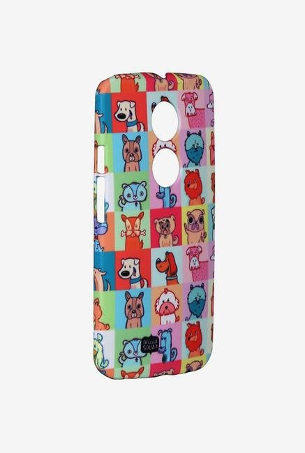 iAccy ASDMX2006 Cartoon Dog's Case Multicolor for Moto X2