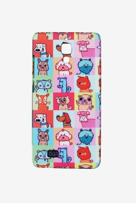 iAccy ASDXMI4006 Cartoon Dog Case Multicolor for Xiaomi MI4