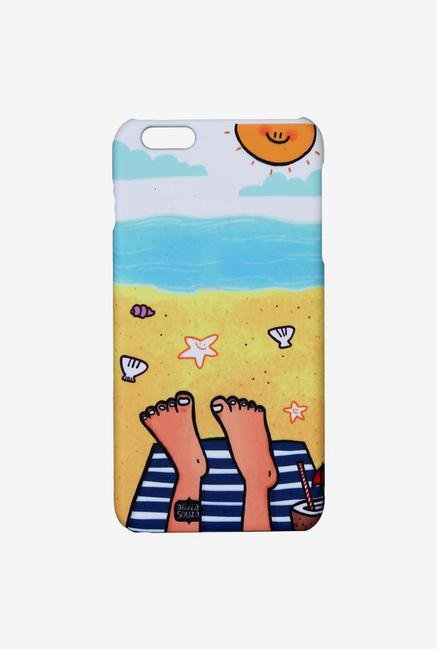 iAccy ASDI6P005 Beach Case Multicolor for iPhone 6 Plus