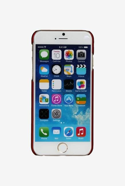 iAccy IP6003 Hard Rubber Case Maroon for iPhone 6