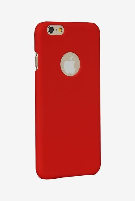 iAccy IP6004 Hard Rubber Case Red for iPhone 6