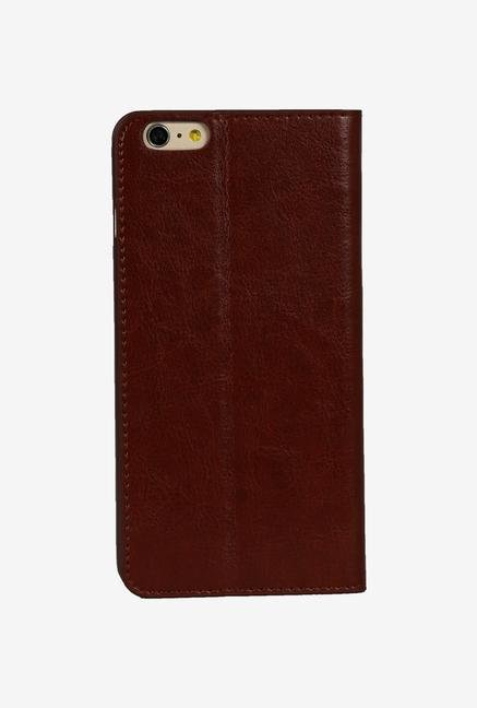 iAccy IP6014 Wallet Case Brown for iPhone 6