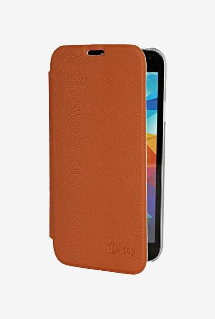 iAccy SS9064 Flip Cover Tan for Samsung Galaxy S5