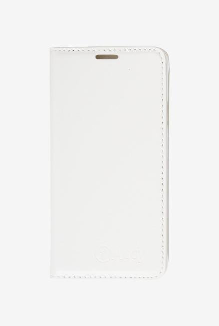 iAccy SS9068 Wallet Case White for Samsung Galaxy Alpha
