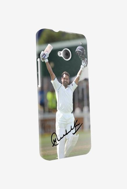 iAccy STH001 Sachin Signature Case Multicolor for HTC one