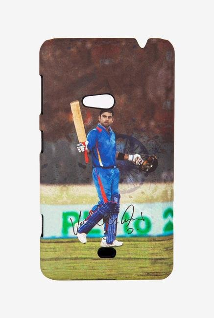 iAccy Virat Kohli Signature Case Multicolor for Lumia 625
