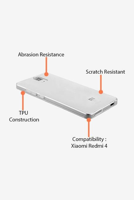 iAccy XM0004 Back Cover Clear for Xiaomi Redmi 4