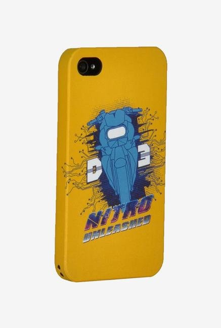 iAccy D3I404 Dhoom:3 Nirto Case Multicolor for iPhone 4/4S