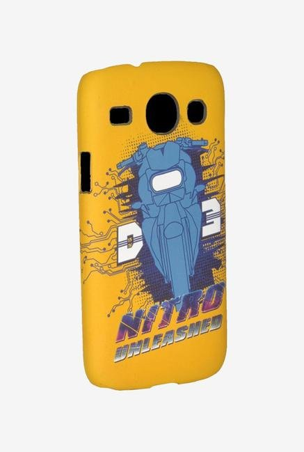 iAccy D3SC04 Dhoom:3 Logo Case Multicolor for Galaxy Core