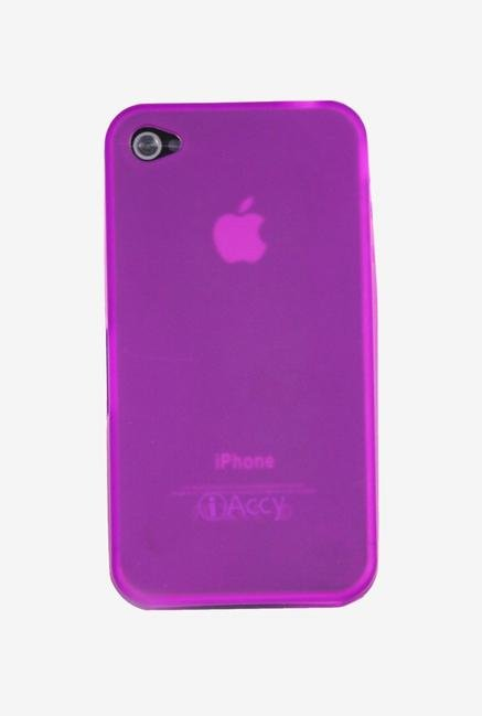 iAccy IP4019 Back Cover Purple for iPhone 4