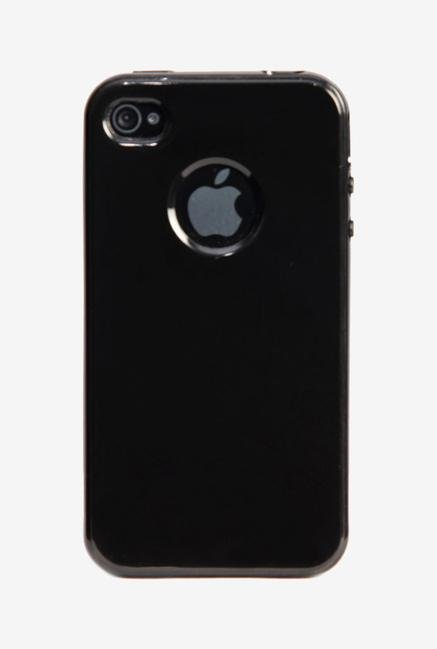iAccy IP4S012 Back Cover Black for iPhone 4s/4