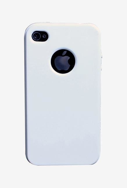 iAccy IP4S013 Back Cover White for iPhone 4s/4