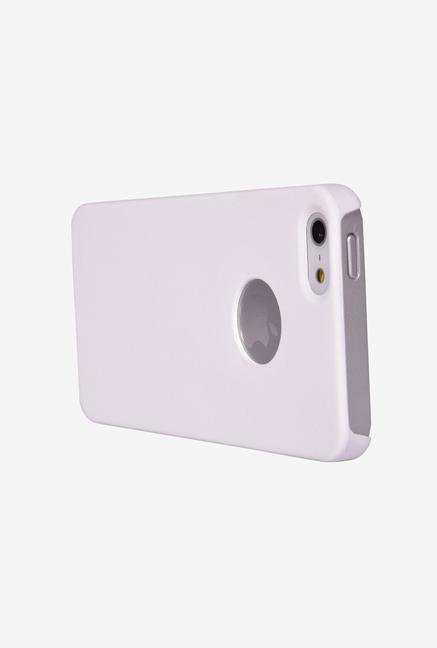 iAccy IP5S002 Feel Case Logo Cutout White for iPhone 5/5S