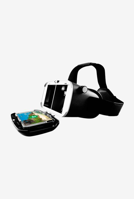 Merlin Immersive 3D VR Glasses without Gamepad Black