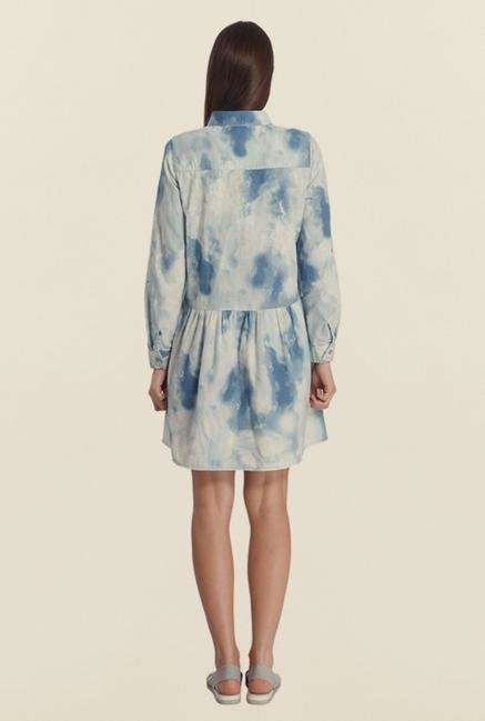 Vero Moda Snow White Tie Dye Dress