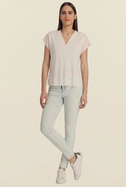 Vero Moda Snow White Solid Top