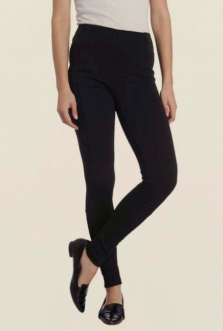 Vero Moda Black Pintuck Leggings