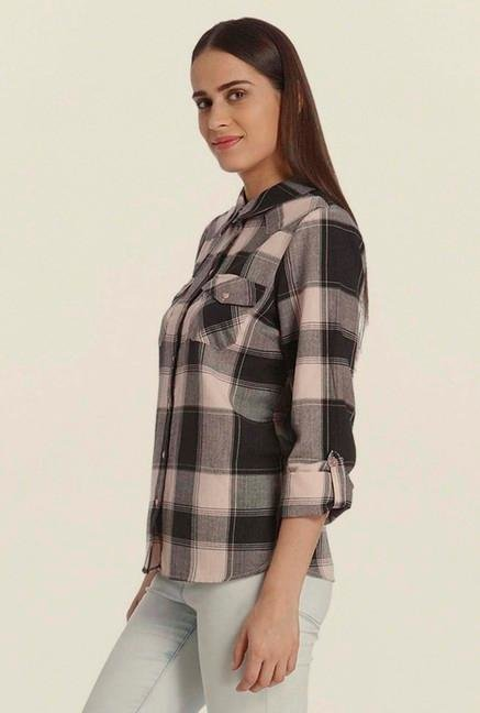 Vero Moda Pearl Checks Shirt