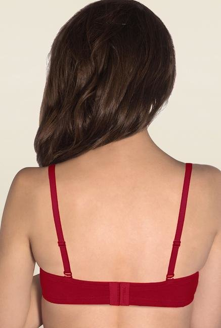 Amante Red Convertible Padded Bra