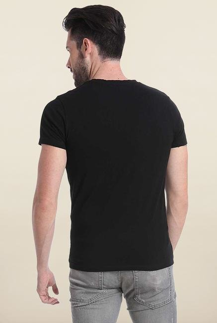 Jack & Jones Black Crew Neck T Shirt