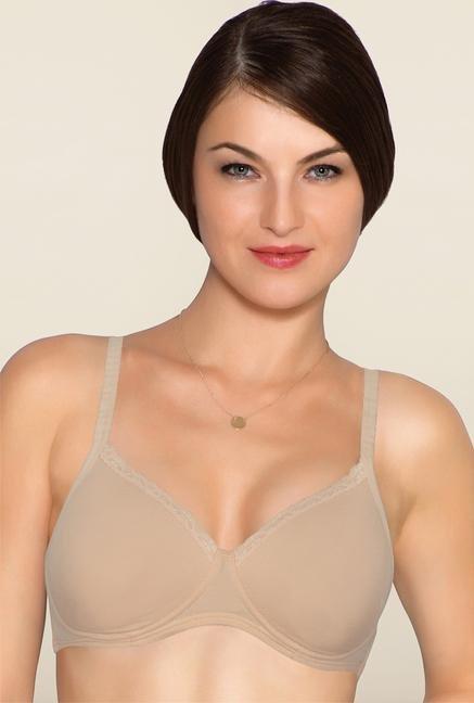 Amante Nude Full Coverage Padded Bra