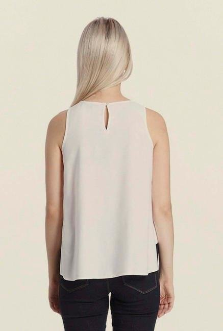 Vero Moda White Embroidered Top