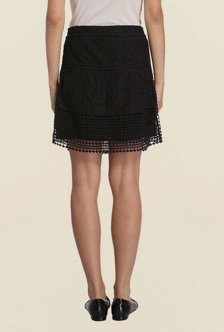 Vero Moda Black Lace Skirt
