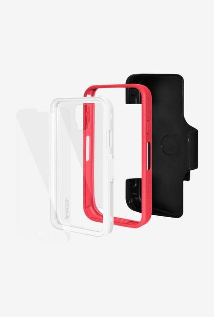 Amzer CRUSTA AMZ300018 Case with Tempered Glass and Holster