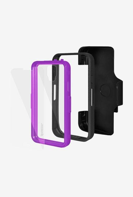 Amzer CRUSTA AMZ300023 Case with Tempered Glass and Holster