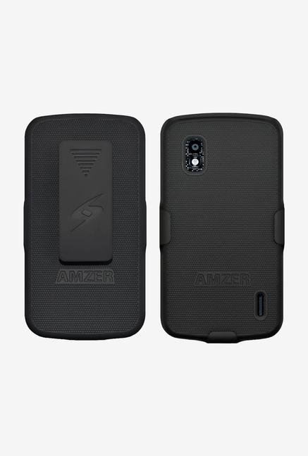 Amzer Shellster Shell Case Black for Nexus 4