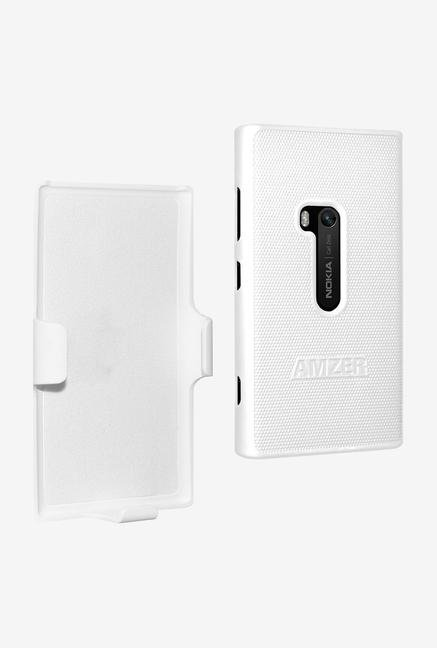 Amzer Shellster Shell Case White for Lumia 920
