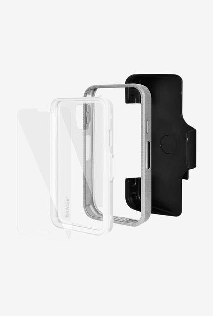 Amzer CRUSTA AMZ300039 Case with Tempered Glass and Holster