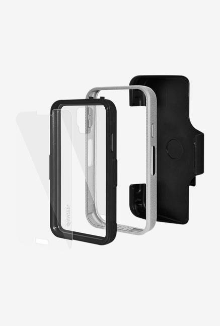 Amzer CRUSTA AMZ300040 Case with Tempered Glass and Holster