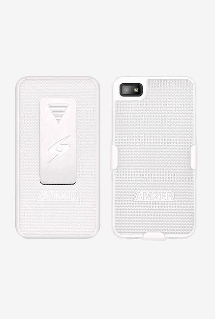 Amzer Shellster Shell Case White for BlackBerry Z10