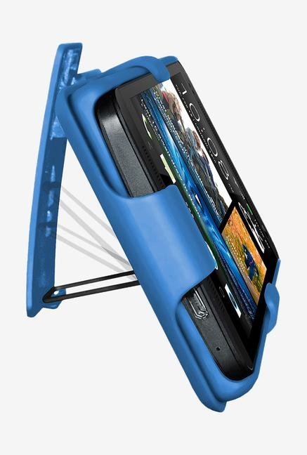 Amzer Shellster Shell Case Blue for HTC One M7