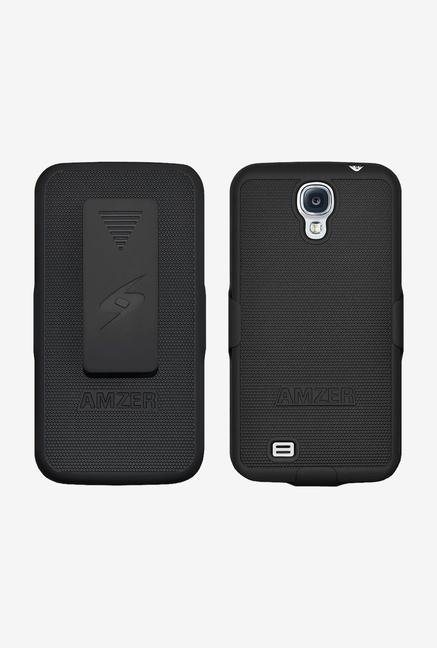 Amzer Shellster Shell Case Black for Galaxy S4