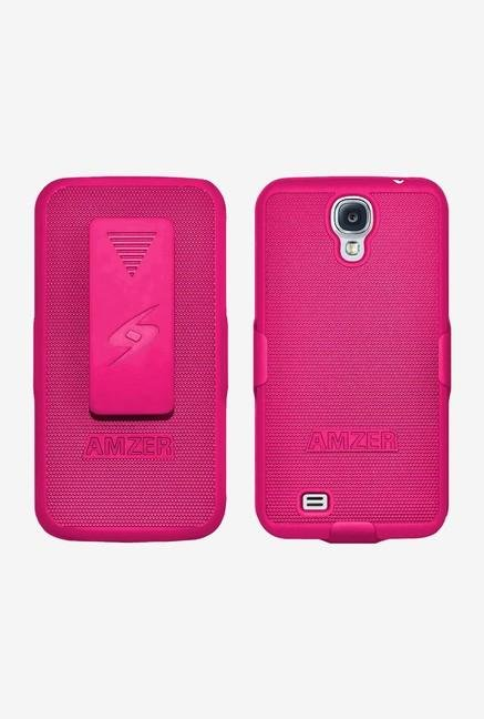Amzer Shellster Shell Case Hot Pink for Galaxy S4