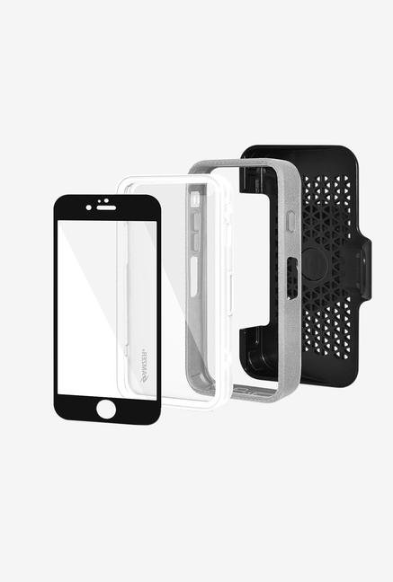 Amzer CRUSTA AMZ300306 Case with Tempered Glass and Holster