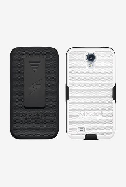 Amzer Shellster Shell Case Black/White for Galaxy S4