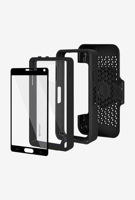 Amzer CRUSTA AMZ300374 Case with Tempered Glass and Holster