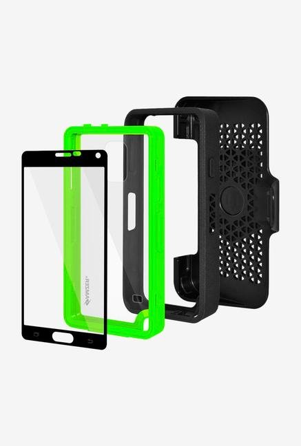 Amzer CRUSTA AMZ300375 Case with Tempered Glass and Holster