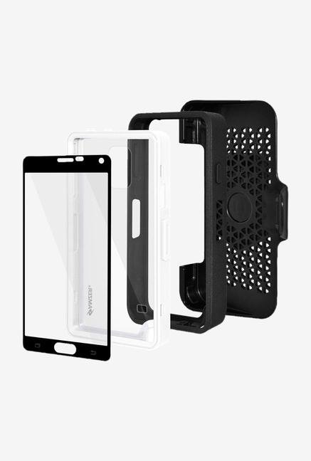 Amzer CRUSTA AMZ300376 Case with Tempered Glass and Holster