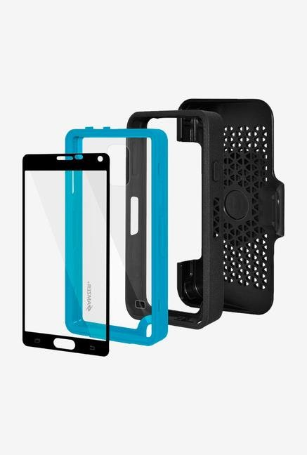 Amzer CRUSTA AMZ300378 Case with Tempered Glass and Holster