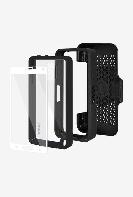 Amzer CRUSTA AMZ300381 Case with Tempered Glass and Holster