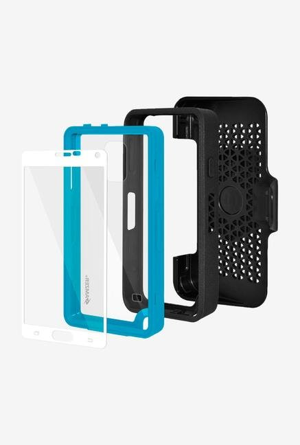 Amzer CRUSTA AMZ300385 Case with Tempered Glass and Holster