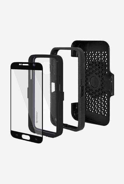 Amzer CRUSTA AMZ300397 Case with Tempered Glass and Holster