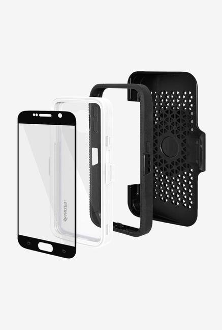 Amzer CRUSTA AMZ300399 Case with Tempered Glass and Holster