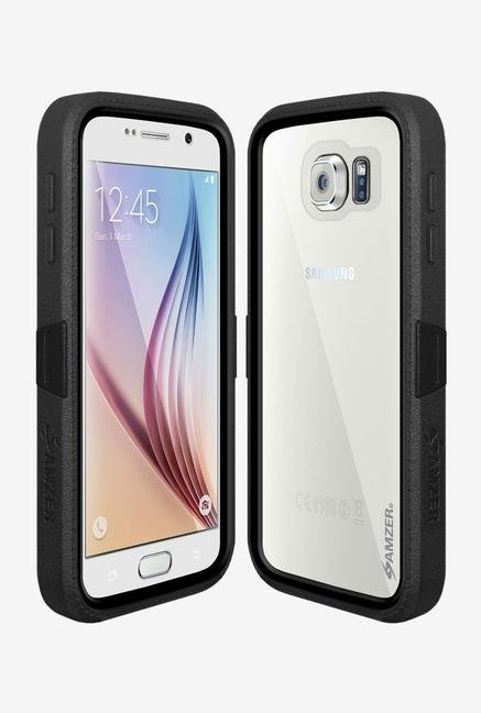 Amzer CRUSTA AMZ300404 Case with Tempered Glass and Holster