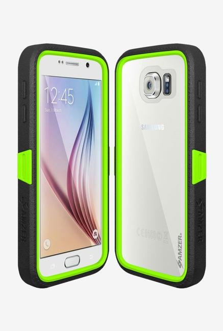 Amzer CRUSTA AMZ300405 Case with Tempered Glass and Holster