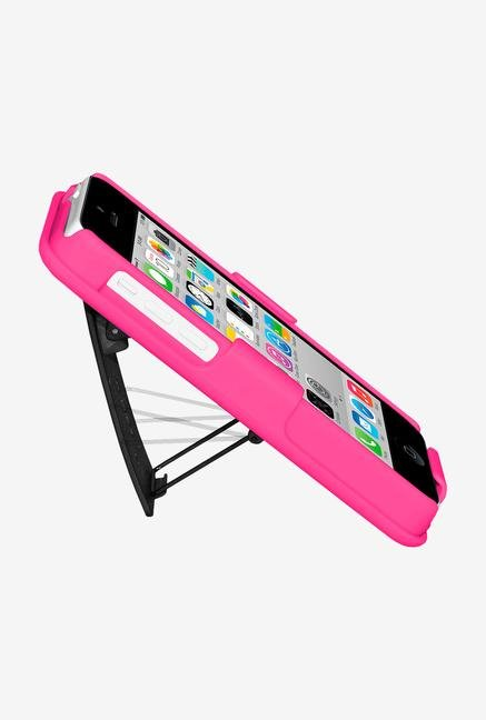 Amzer Shellster Case with Kickstand Hot Pink for iPhone 5